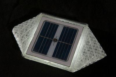 SolarPuff Solarlaterne faltbare Campinglaterne Solarlicht Gartenbeleuchtung – Bild 6