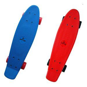 "Plastik Retro Board 22,5"" Mini-Skateboard – Bild 3"