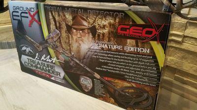 Ground EFX Metalldetektor Camouflage TC2X - Sonderedition Duck Commander Si Robertson – Bild 2