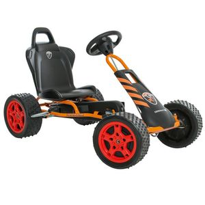 "Ferbedo Go-Kart Cross-Runner ""Constructor"" - orange 05328 – Bild 1"
