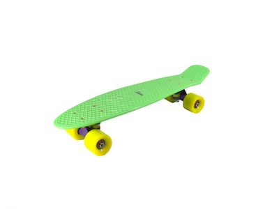 "Mini-Skateboard Retro Board ""Springtime"" green von Triway Sports – Bild 1"