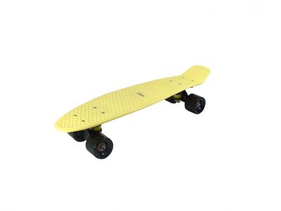 "Mini-Skateboard Retro Board ""Yellow Cruise"" von Triway Sports – Bild 1"