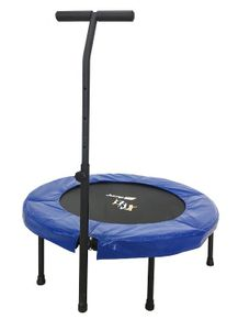 Jump Up Deluxe Fitness Trampolin T-Bar mit Haltestange – Bild 2