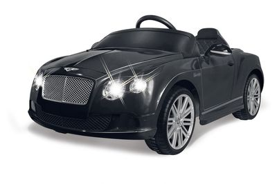 Bentley Continental GT Speed Convertible schwarz 27 MHz Elektroauto Ride on Car von Jamara 405015  – Bild 1