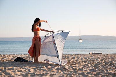 Strandschutz HARE KOHU PLUS Strandmuschel in 2 verschiedenen Farben – Bild 7
