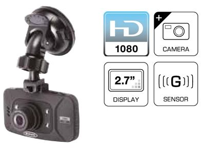 "Autokamera HD 2.7"" - Dash Camera von Ring Automotive RBGDC50 – Bild 7"
