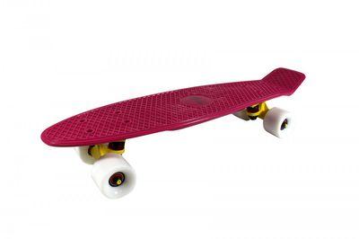 "Mini-Skateboard Retro Board ""Purple Sunset"" von Triway Sports"