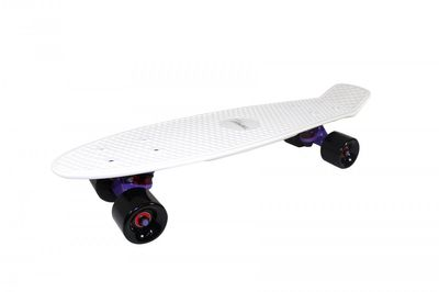 "Mini-Skateboard Retro Board ""White Shark"" von Triway Sports – Bild 1"