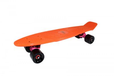 "Mini-Skateboard Retro Board ""Juicy Orange"" von Triway Sports"