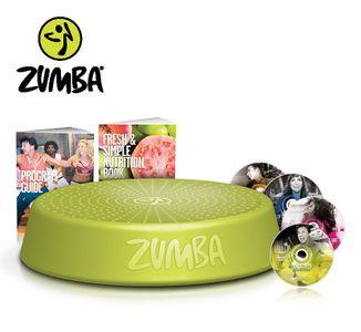 Zumba Fitness Incredible Results DVD-Set + Zumba Step Rizer