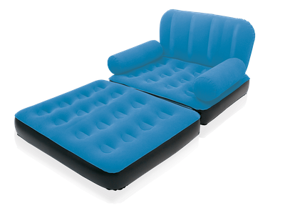 Aufblasbarer ausziehbarer Sessel