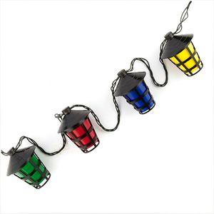 LED Lampion-Girlande – Bild 1