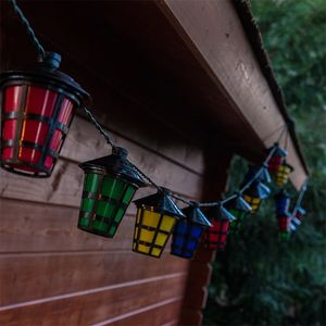 LED Lampion-Girlande – Bild 4