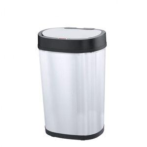 Sensor-Abfalleimer (30 L) GYT30-5 Deluxe Mülleimer mit Infrarotsensor oval von Helpmation – Bild 1