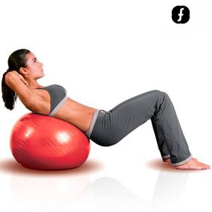 Body Fitball Pilates Ball (55 cm) – Bild 1