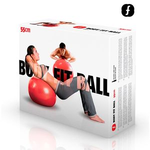 Body Fitball Pilates Ball (55 cm) – Bild 3