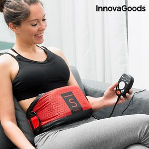 Vibrationsgürtel Ultra mit Saunaeffekt Bauchmuskelgürtel Bauchtrainer – Bild 3