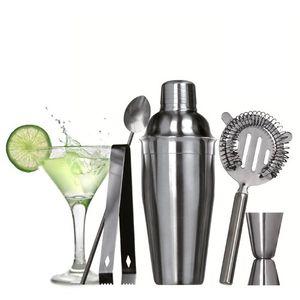 5-teiliges Cocktail-Set Premium aus Edelstahl – Bild 1