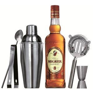 5-teiliges Cocktail-Set Premium aus Edelstahl – Bild 4