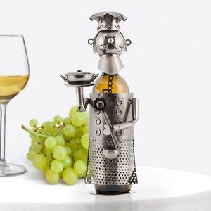 "Flaschenhalter aus Metall ""Chefkoch"" – Bild 2"