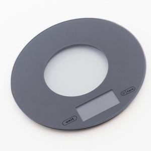 Digitale Küchenwaage, grau