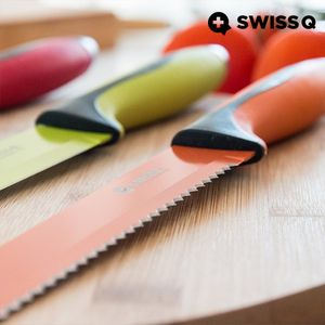 Swiss High Quality 6-teiliges Edelstahl Messer-Set – Bild 8