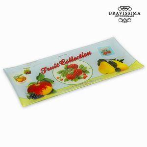 Rechteckige Servierplatte Fruit Collection - Kitchen's Deco Kollektion – Bild 1