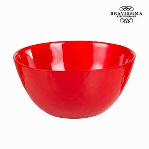 Rote Glasschale - Crystal Colours Kitchen Kollektion