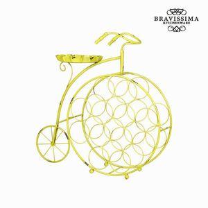 Metallweinregal Fahrrad – Bild 1