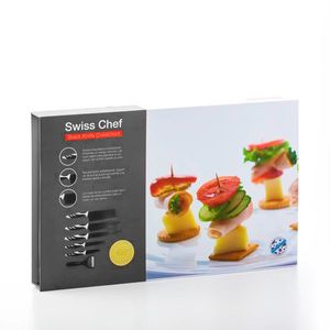 Messerset Top Chef Black (6-teilig) Premium – Bild 3