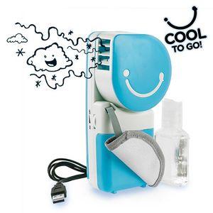 Tragbare Klimaanlage Mini-Ventilator mit Wasserdampf