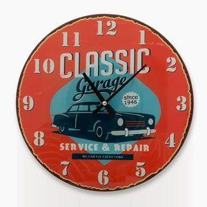 Vintage Wanduhr Classic Car