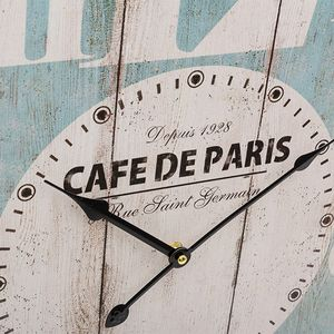 Wanduhr Cafe de Paris Coconut