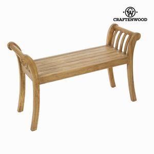 Holzbank Sitzbank aus Akazienholz – Bild 1