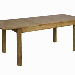 Ausziehbarer Tisch aus Akazienholz – Bild 4