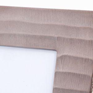 Bilderrahmen Fotorahmen aus Aluminium, bronzefarben, 21 x 26 cm – Bild 2