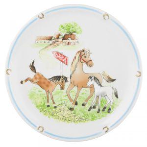 Speiseteller 25 cm Fahne Compact 24778 »Mein Pony« von Seltmann Weiden