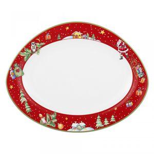Platte oval 35 cm Trio 24891 »Weihnachten« von Seltmann Weiden