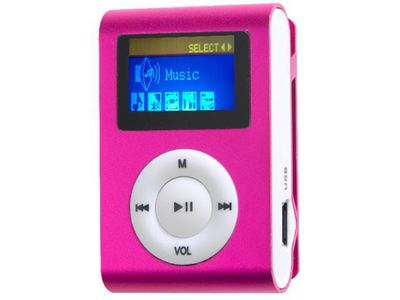 "Difrnce, MP3-Player, MP855, 4GB, pink, MP3-Player, 4GB, pink, 1,1"" LCD Display"