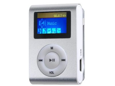 "Difrnce, MP3-Player, MP855, 4GB, silber, MP3-Player, 4GB, silber, 1,1"" LCD Display"