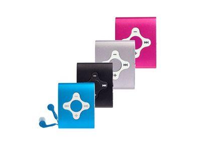 Difrnce, MP3-Player, MP756, 4GB, schwarz, MP3-Player, 4GB, Aluminiumgehäuse, Clip, schwarz