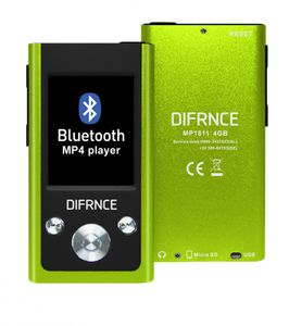 Difrnce, MP3-Player, MP1811, 4GB, lime, MP3-Player, 4GB, lime, Bluetooth-Funktion