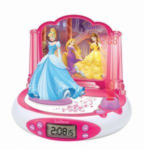 Lexibook, Projektionswecker, RP510DP Disney Princess, Projektionswecker im Disney Princess Design