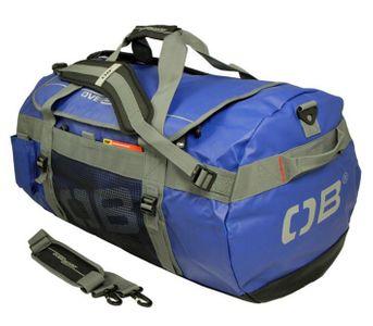 Overboard, Duffle Bag, wasserdichte Duffle Bag 90 Lit ADV, OB1059B, blau, wasserdichte Sporttasche, Dufflebag, 90L, abnehmbare Schulterriemen, blau