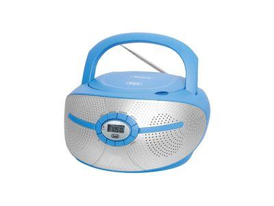 Trevi, CD-Player, CMP 552 BT blau, Stereo-Radio-CD-Player mit CD /    USB / MP3/ Bluetooth