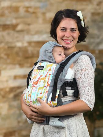 Isara Babytrage – Bild 1