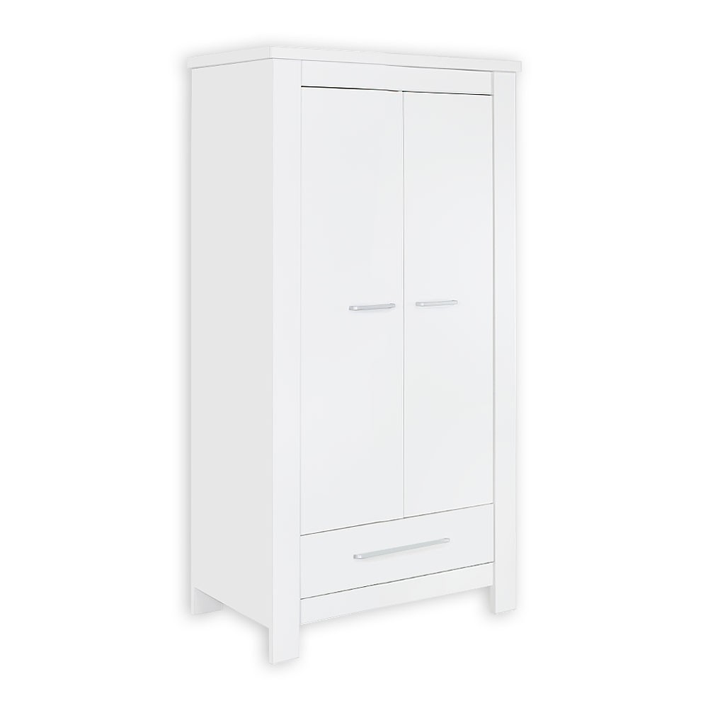 kleiderschrank 2 t rig enni in wei baby m bel kleiderschr nke. Black Bedroom Furniture Sets. Home Design Ideas