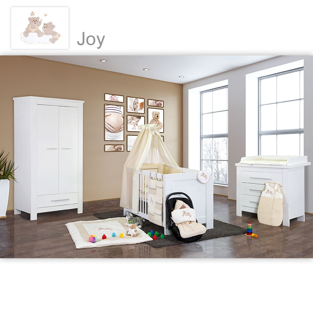 Babyzimmer Kinderzimmer Enni Matt Oder Hochglanz Mit 2 Oder 3 Türigem  Schrank. Auf Wunsch Auch
