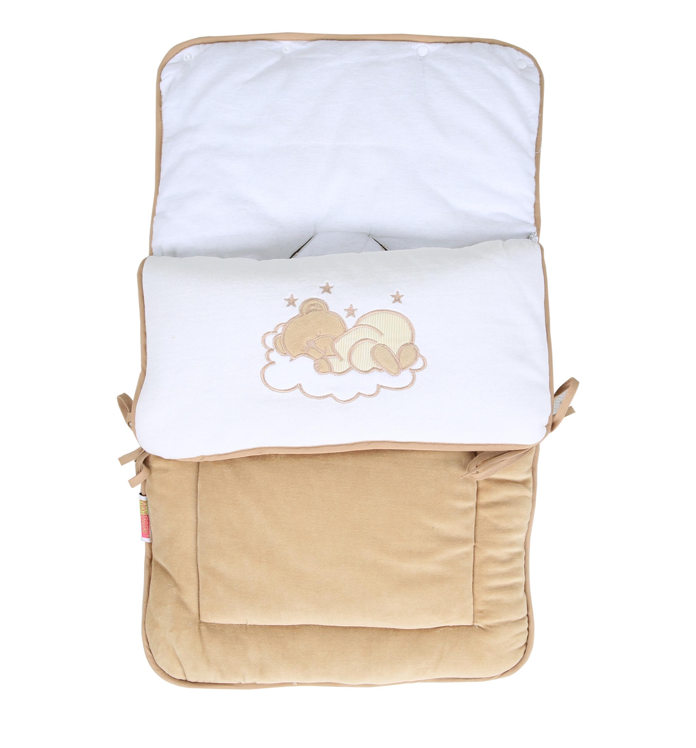 Schlaf-, Fuß- & Kuschelsack mit Gurtschlitz von Sleeping Bear Nicki – Bild 3