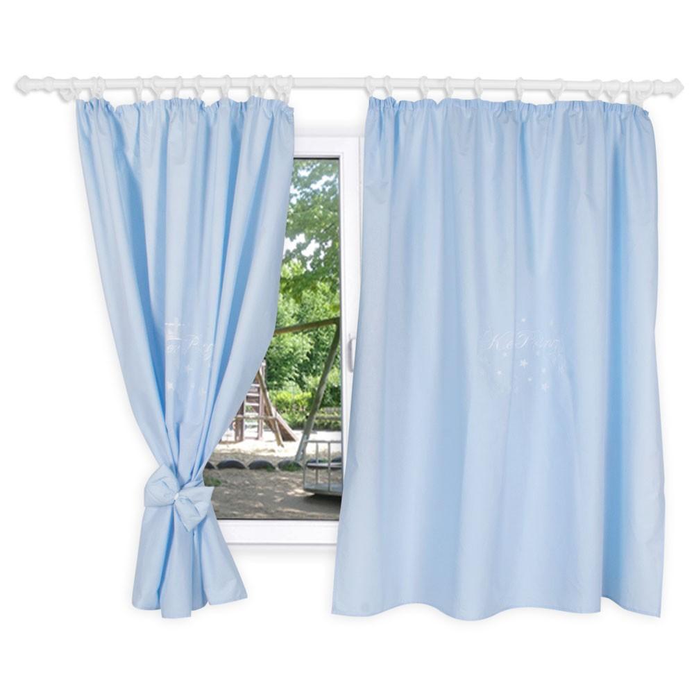 kinderzimmer gardinen vorhange der kleiner prinz 156 x 156 cm